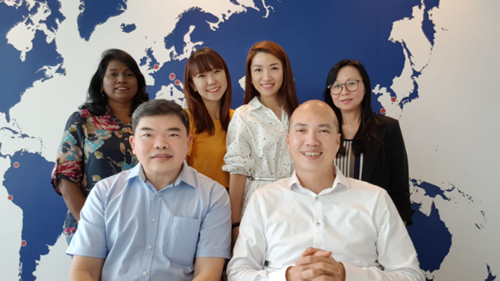 Tricon new Singapore office team